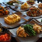 京のおばんざい食べ放題ランチ(12:00~14:30)