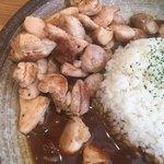 ニルニル - グリルチキンカレー(*´ω`*)300g たっぷり食べれて嬉しい