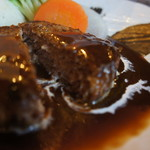 肉汁ハンバーグステーキ