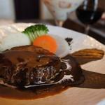 蔵KURA - 肉汁ハンバーグステーキ