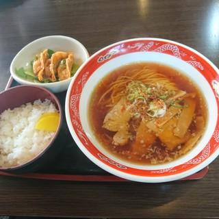 新町食堂丸屋 - 料理写真:日替わり(680円)2018年4月