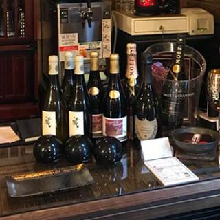 お料理のお共に気軽にワインを♪マリアージュを楽しんで*
