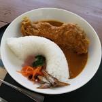 カントリーレストラン 渓流荘 - 「猪ドッカン!Curry (1188円)」