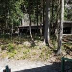 カントリーレストラン 渓流荘 - 大自然の中の店内の様子