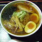 麺屋 直 - 料理写真:あじ玉らーめん700円。