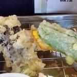 魚好亭 - お野菜3種とお肉。