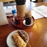 野口製麺所 - 卓上