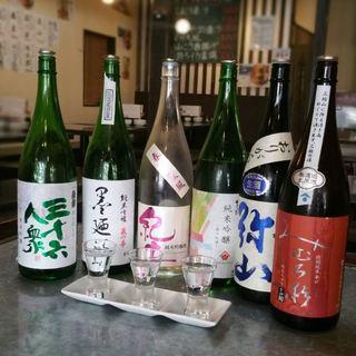 日本酒ぞくぞく入荷中!!