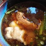 野口製麺所 - 肉汁(付け汁)