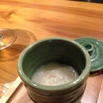 Toriguchi - 前菜4種の鶏粥