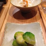 とり口 - 前菜4種