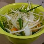 ジンギスカン楽太郎 - 野菜