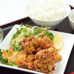 餃子の福来 - 唐揚げ定食 780円 ※17時までのメニューです