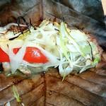 銀波 - 岩中豚の柚子胡椒味噌焼き