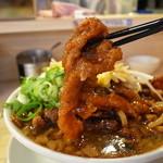 肉汁麺ススム - 豚バラの唐揚の煮込みが270g