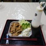 みつ乃家 - 生姜焼き650円