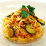 organic super vegan 割主烹従 飛竜 - アラビアータ(玄米麺)