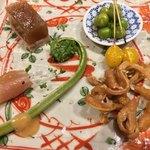 焼鳥 トリビアン - 前菜盛り合わせ