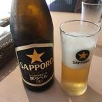 サクラ - ビール(^∇^)