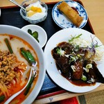 中華料理 喜多郎 - 角煮定食全貌!