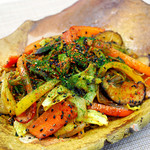 organic super vegan 割主烹従 飛竜 - 十割蕎麦の焼き蕎麦