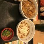 なか卯 - 牛丼 小うどんセット