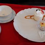 パティスリー ボンヌ ノノ - ケーキのセット