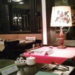 mignon hotel de noel - 食堂です。置いてある小物もすごく可愛らしい☆