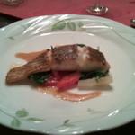 mignon hotel de noel - この日は白身のお魚でした。