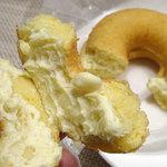 アンド ドーナツ - クリームチーズ(豆腐)200円