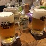 壱番館 - 生ビール