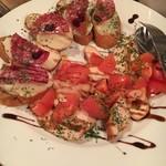 ティンバーズ カフェ ツキジ テーブル - (料理)前菜3種盛り