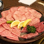 きらく - 料理写真:■お肉(塩もの)