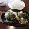 はもん亭 - 料理写真:特製ハンバーグランチ(ドリンク付) 1300円 (2018.3)