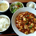 83555073 - 「A マーボー豆腐定食」750円