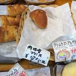 シモン - 【買ったパン】肉味噌フランス(170円)←「+税」と表示されてますが、税込みで170円でした。