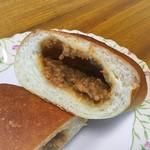 シモン - 【肉味噌フランス(170円)】リベイクしてからいただくのがおすすめです。