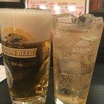 虎串 - 生ビール、ハイボールで乾杯♪