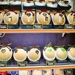 アオイ農園 ぶどうの木 - クラウンメロンは1個3000円~15000円まである