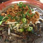 東京担々麺  ゴマ哲 - 黒鉄担々麺¥860