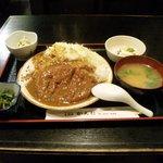 天ぷら かんだ - カツカレー (ランチ)¥750