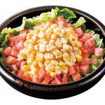 道とん堀 - コーンたっぷりサラダ