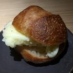 銀座 盡 - 自家製のバターとパン