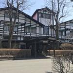 万平ホテル カフェテラス -