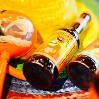 11種類のメキシカンビールにカクテルなど種類豊富なお酒が魅力