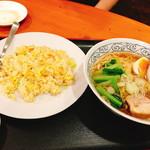 来福源 - ラーメン、チャーハンセット(850円:税込)