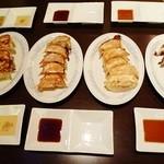 餃子のぽん - 餃子4種