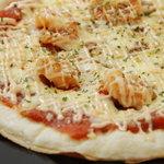 鳥波羅蜜 - 実はピザもおすすめだったりします!