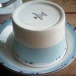 ガーデンカフェ ぬまもと - ウェッジウッドのカップ&ソーサー