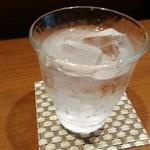 ゑん - チェイサーのお水